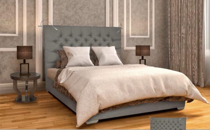 Кровать Richard с основанием