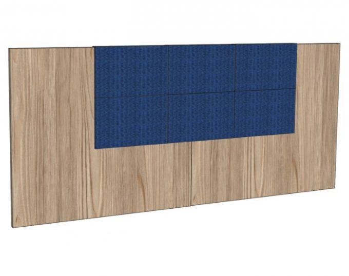 Изголовье для двухспальной кровати 2770*1200мм с мягким элементом (Флоренция)