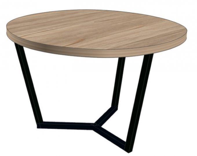 Стол журнальный круглый D=800х520 (Флоренция)
