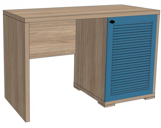 Стол с одной тумбой (с нишей под холодильник) 1200х520х750 (Флоренция)