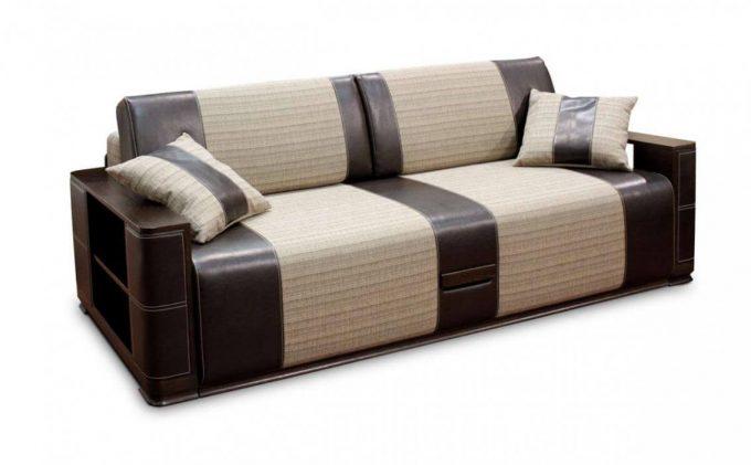 Диван-кровать Патрик из ткани или кожи