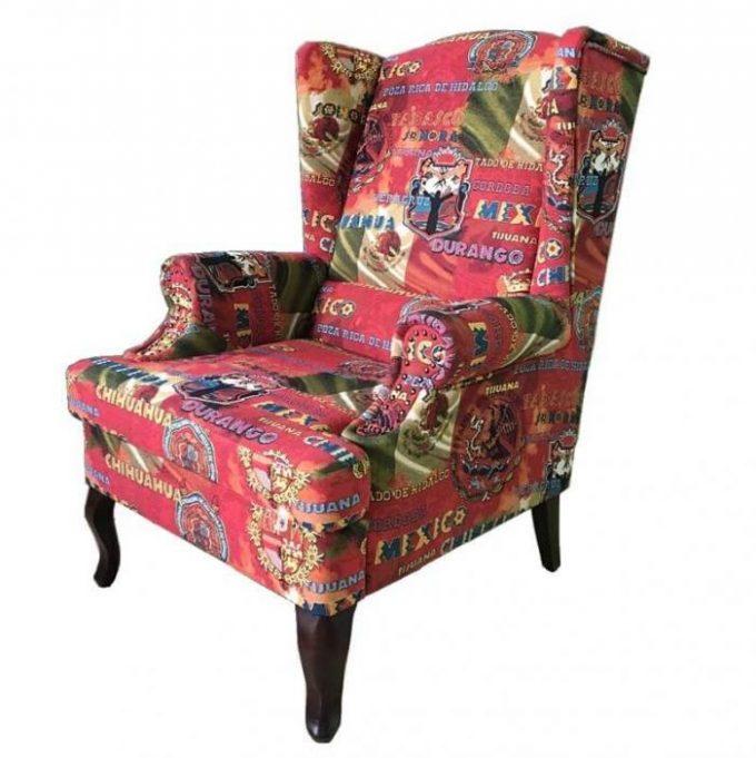 Кресло Рим в ткани