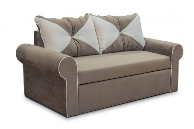 Диван-кровать САН-РЕМО в ткани или коже