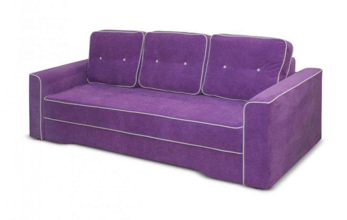 Диван-кровать Сорренто в ткани или коже