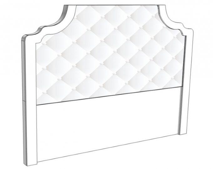 Изголовье для односпальной кровати 1100*1200 (для кровати шириной 932) (Венеция)