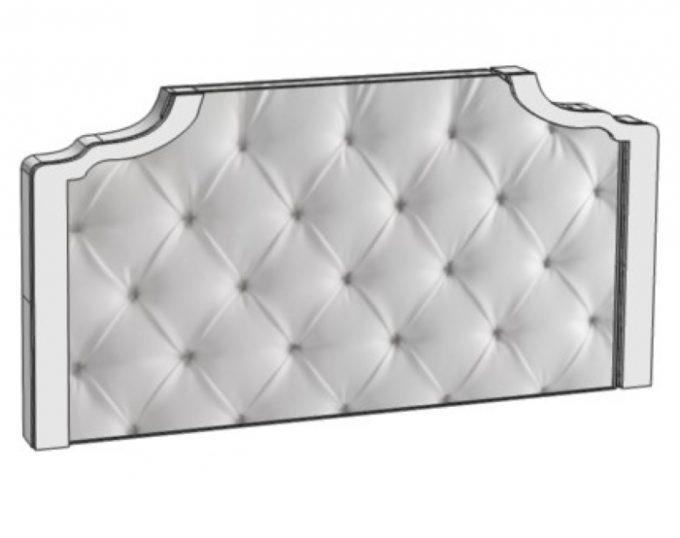 Подножье мягкое для двухспальной кровати 2000х600 (Венеция)